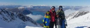 Lake Ohau Quarters - Skiing