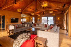 Lake Ohau Quarters - Lounge